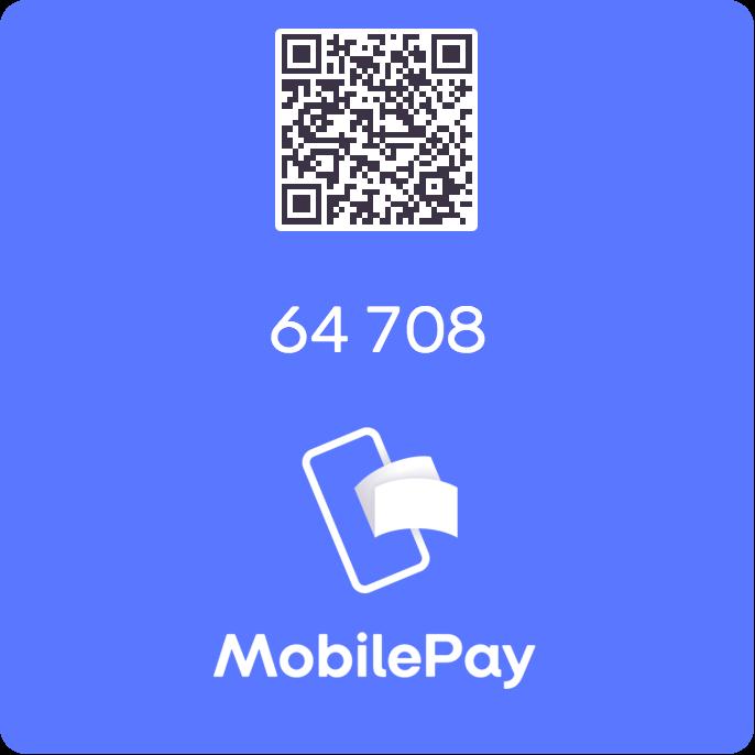 MobilePay logo med QR-kode